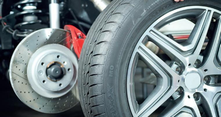 Reifenmontage und -demontage vom Fachbetrieb